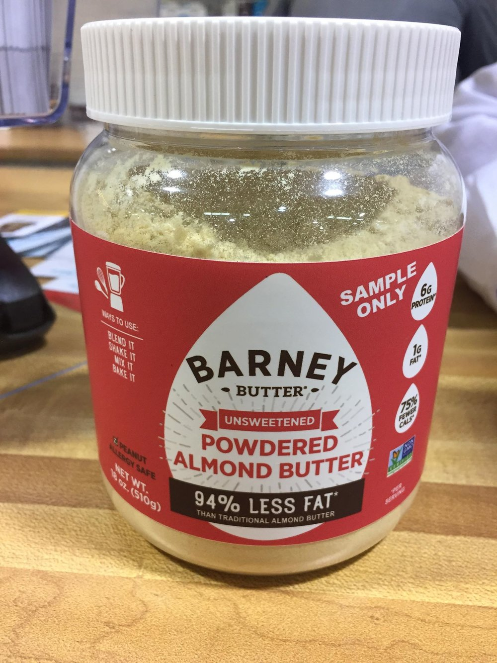 Barney Powdered Almond Butter
