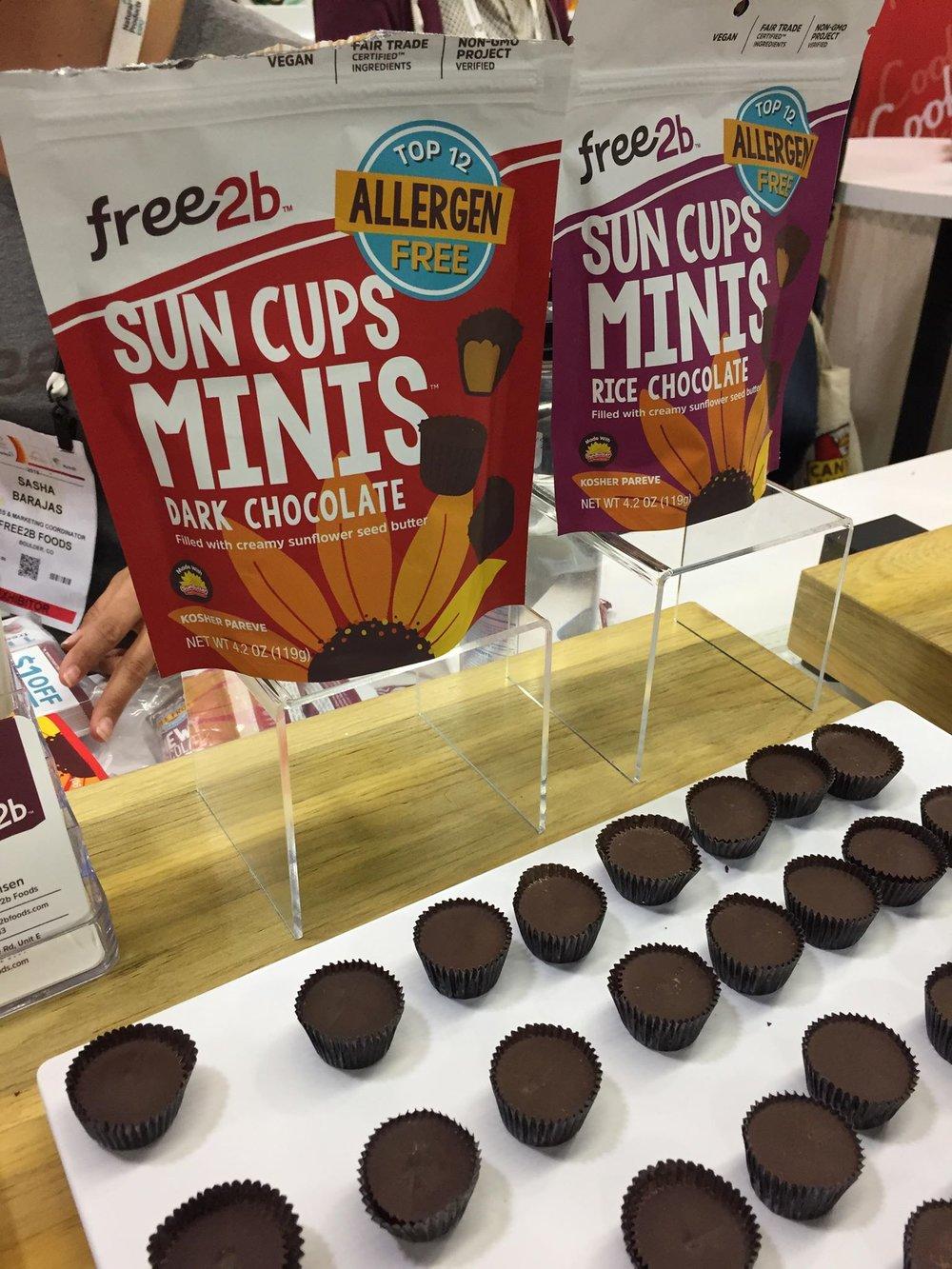 Free 2b Sun Cup Chocolate Minis