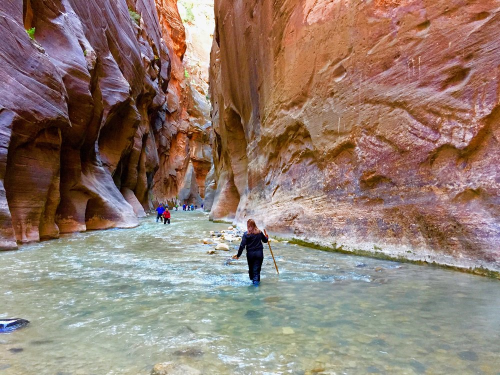 The Narrows at Zion (Wall Street) National Park, Utah