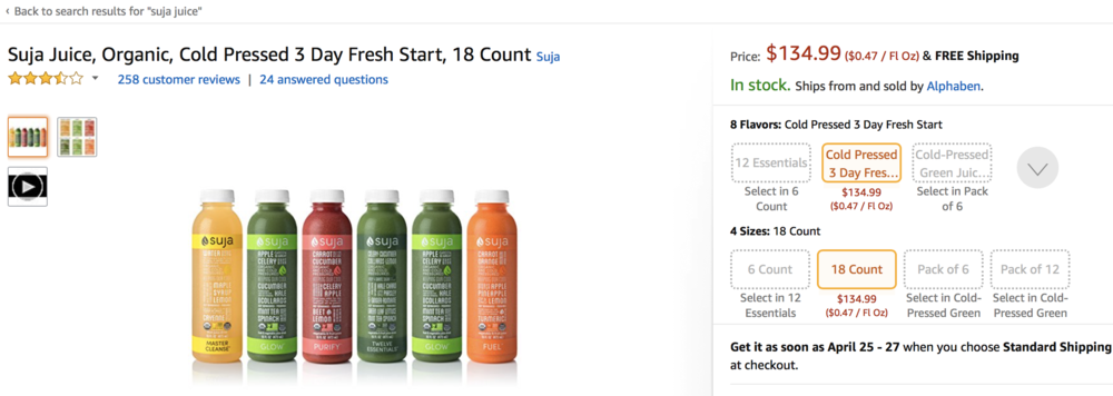3 DAY CLEANSE AVAILABLE ON  AMAZON