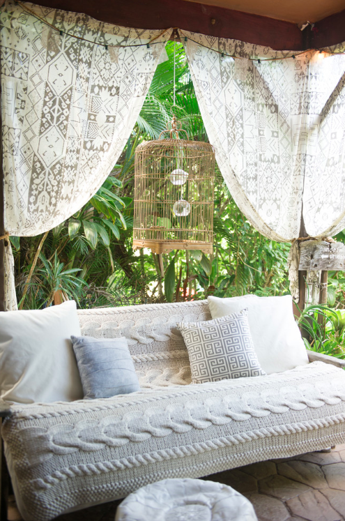 Whimsical Cozy Neutral Lounge
