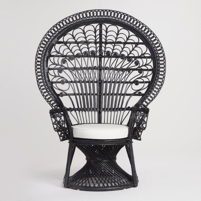 World Market || Peacock Chair || $280