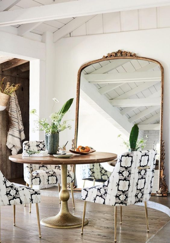 Anthropologie Glam Chairs
