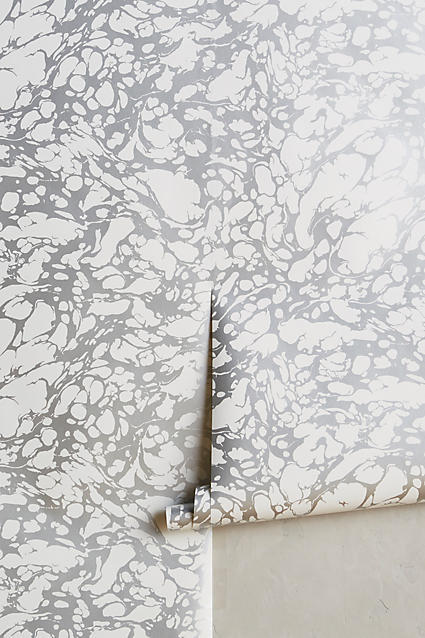dress your walls in marble. - Anthropologie $118