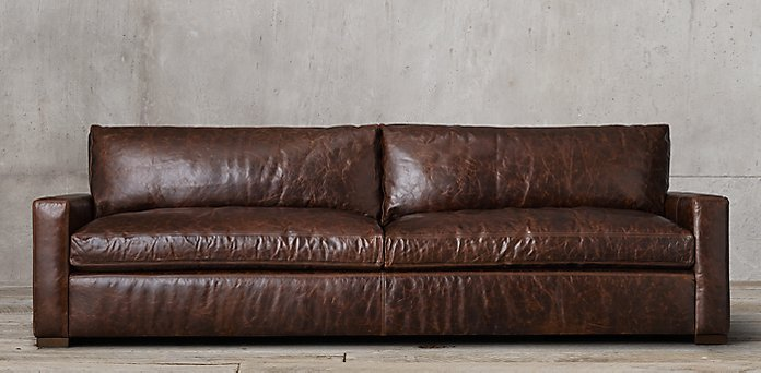 RESTORATION HARDWARE || MAXWELL COUCH