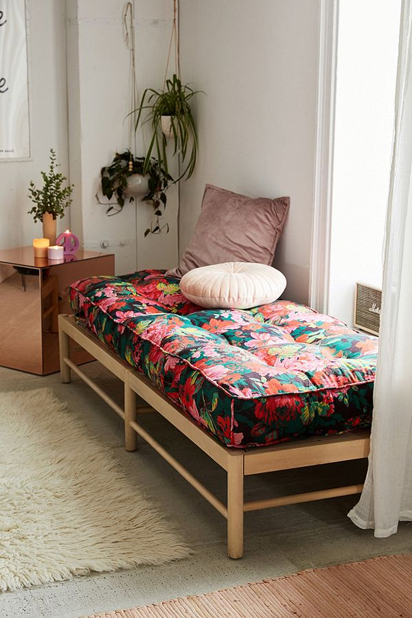 FLORAL DAYBED CUSHION - Urban Outfitters $179