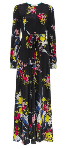 silk floral maxi dress - DVF Diane Von Furstenburg $615