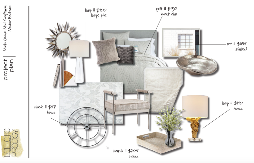 MASTER BEDROOM CONCEPT BOARD [ 3 ]
