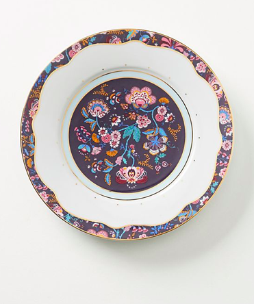liberty floral dinner plate - Anthropologie $20