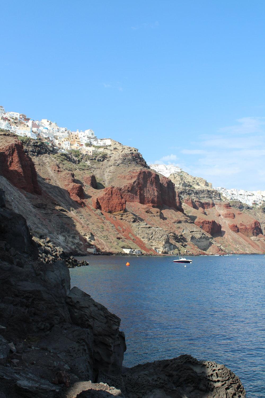 Isle of Saint Nicholas Santorini // Eclectic Prodigy