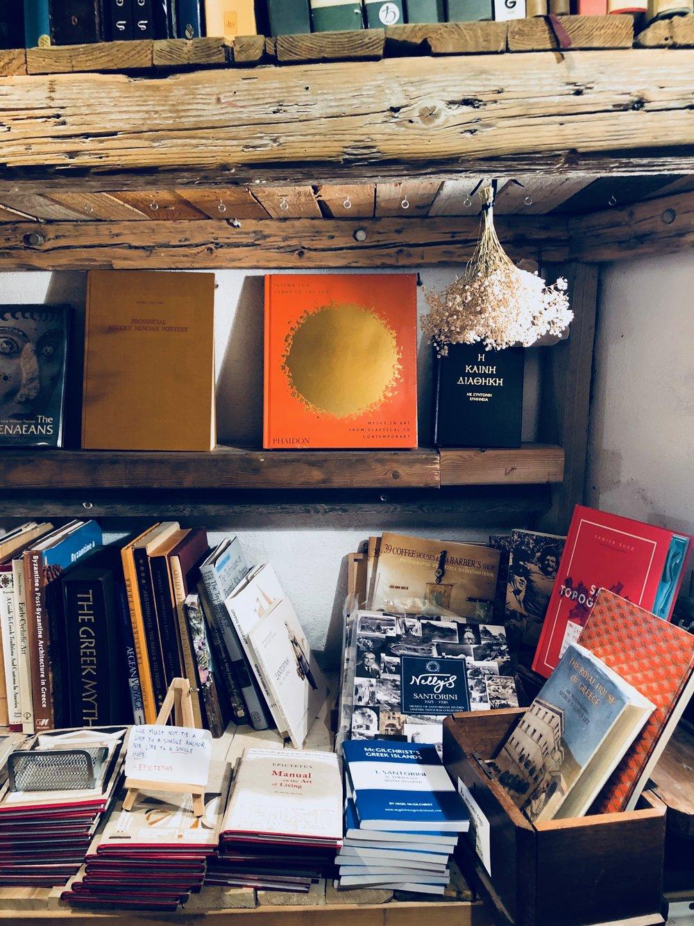 Atlantis Books Santorini // Eclectic Prodigy