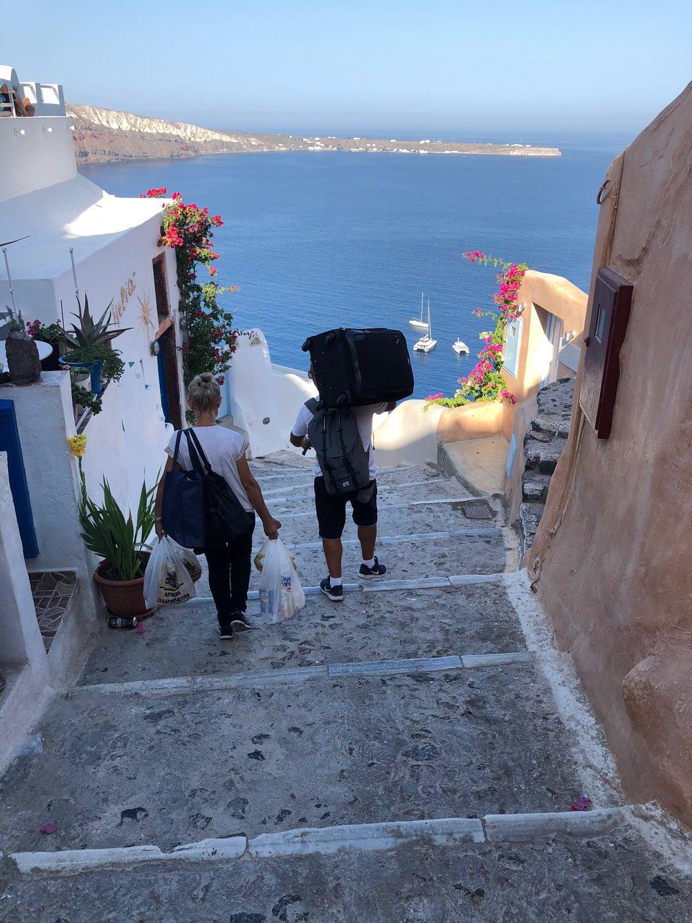Oia Santorini // Eclectic Prodigy