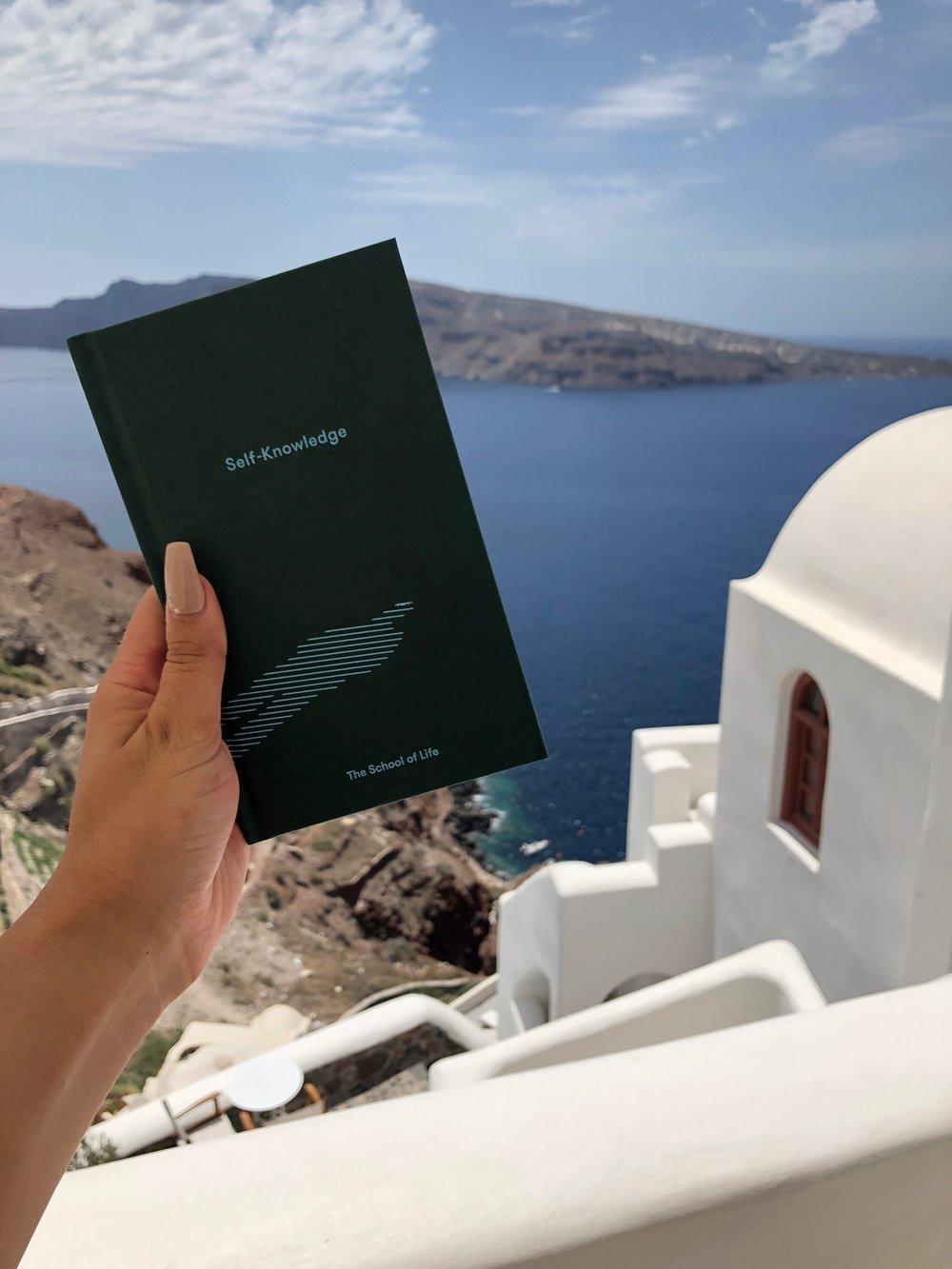 Self Knowledge School of Life Santorini // Eclectic Prodigy