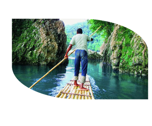 A leisurely three-hour float down a lavishly scenic river to the sea.  Relax on the bamboo bench while your captain does all the work, poling the raft through bends and tricky currents.  The trip can get exciting at times, but it's perfectly safe, and there are some opportunities to stop at a sandbar stall for food and drink.