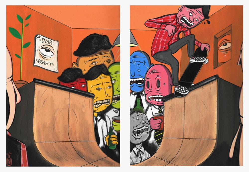 """""""Skate or Tie"""""""