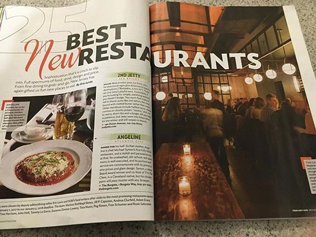 "The Cassidy Bar + Kitchen Maplewood, NJ  Congratulations to Chef Tom and Jennifer Carlin on their  restaurant being selected by NJ Monthly magazine ""25 Best New Restaurants"" Great article and well deserved!"