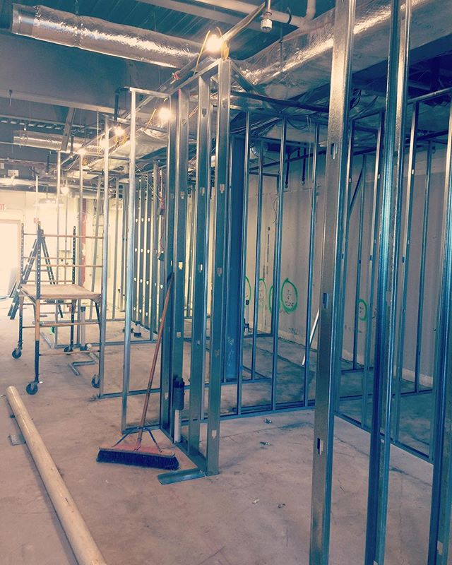 Ready to rock at our Amazing Lash Studio in Sea Girt, NJ. Fast track retail construction schedule. Opening in April 2018.  #retailconstruction #longviewbuilds #longviewconstruction #buildingrelationships #trusttheprocess #construction #framing #subcontractors #wallnj #monmouthcounty #seagirt #amazinglash #fitout