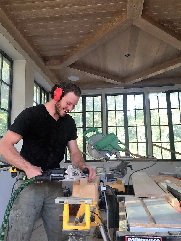 "Brendan  found his niche in the woodworking industry upon his arrival to Western North Carolina in 2007. Framing custom mountain homes with a close friend helped instill the value of a hard won work ethic and camaraderie that only long days, heavy lifting and piles of sawdust can bring. He eventually migrated back to his hometown on Cape Cod in Massachusetts where, through good teachers and demanding projects, he fine tuned his interior woodworking skills and truly developed a passion for the trade. In 2011 he founded Brendan A. Sutton Fine Finish Carpentry which he developed for the next five years until moving Southward once again back to the city of Asheville, N.C. taking the business with him. ""My father was a woodworker and he always had a small shop in the basement at our home growing up. I can remember loving the smell of the sawdust and noise of the shop tools. These amazing projects would emerge from that shop. I love the idea that I get to continue on in that amazement; not just in awe of the craft but the creations that arise out of it by my own hands now. I honestly have fallen in love with wood working and the world that surrounds it."""