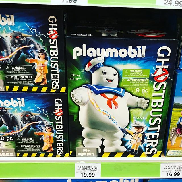Found in the wild! Had no idea these were a thing until @megansbeenslimed posted about them! Had to grab these. #cultclassic #movies #ghostbusters #staypuft #toyhunter #toycrewbuddies