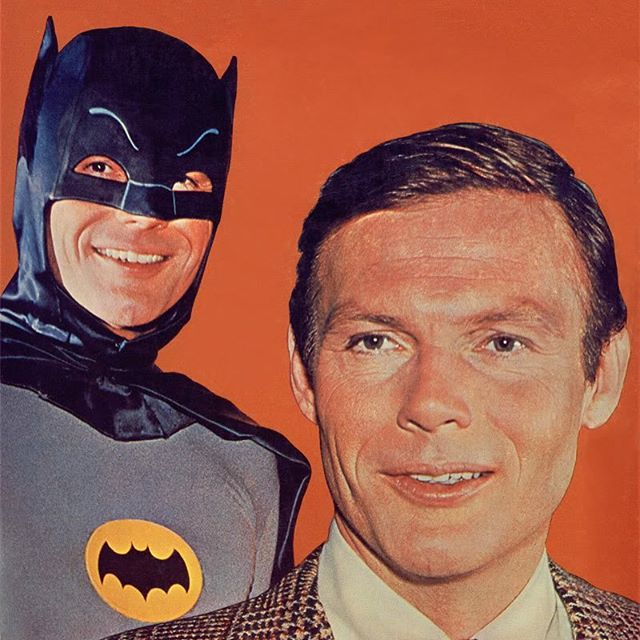 😭. Born in the 1980's, West was still my introduction to Batman. Re-runs of the classic 60's show would air every weekday and I was hooked. Everything about 1960's Batman was iconic: the color palate, the guest stars, the Batmobile, theme song, and Adam West. Cheers Mr. West. Thanks for the memories. #adamwest #adamwestbatman #60s