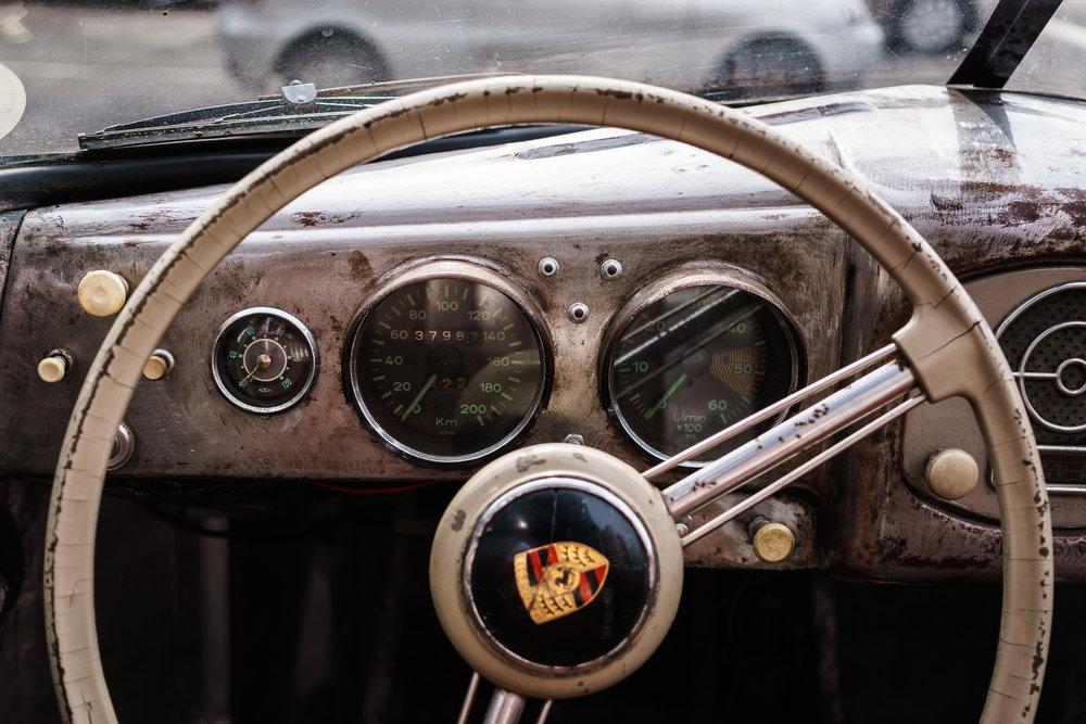Porsche 356 Speedometers