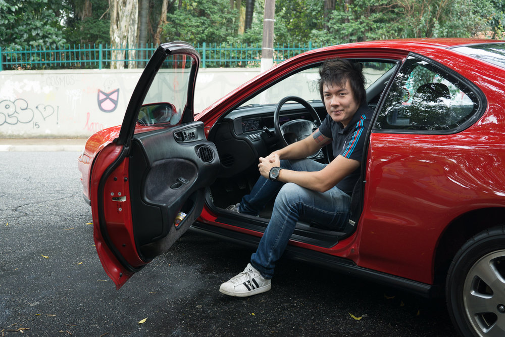 Juliano sitting in his prelude