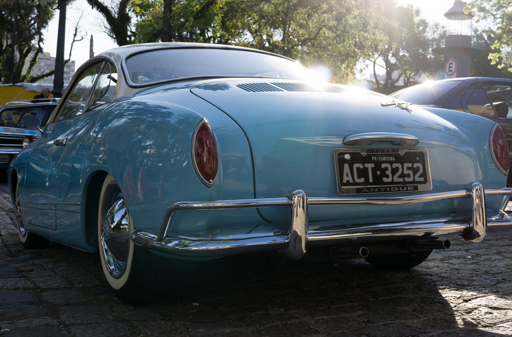 Rear end of a Karmann Ghia