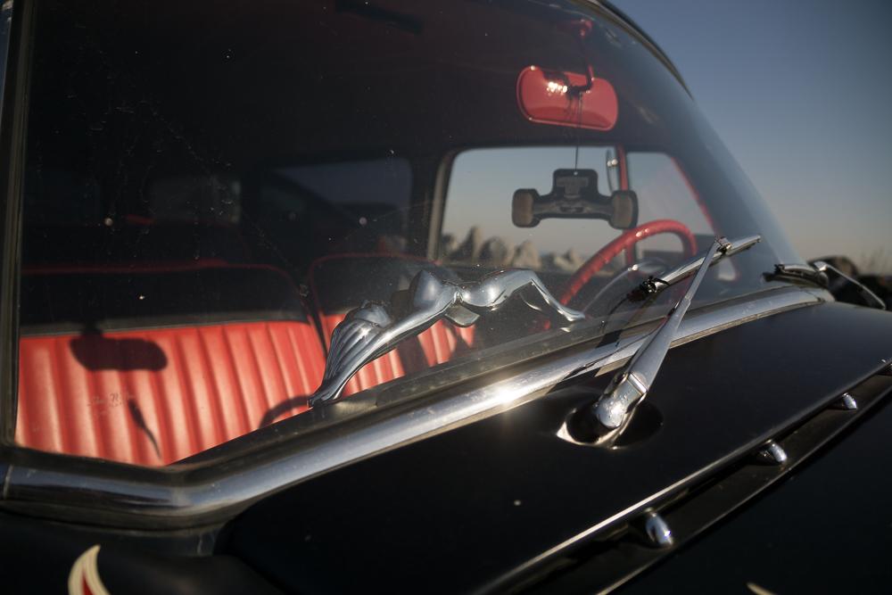 The Pussy Wagon Passenger side handlebar