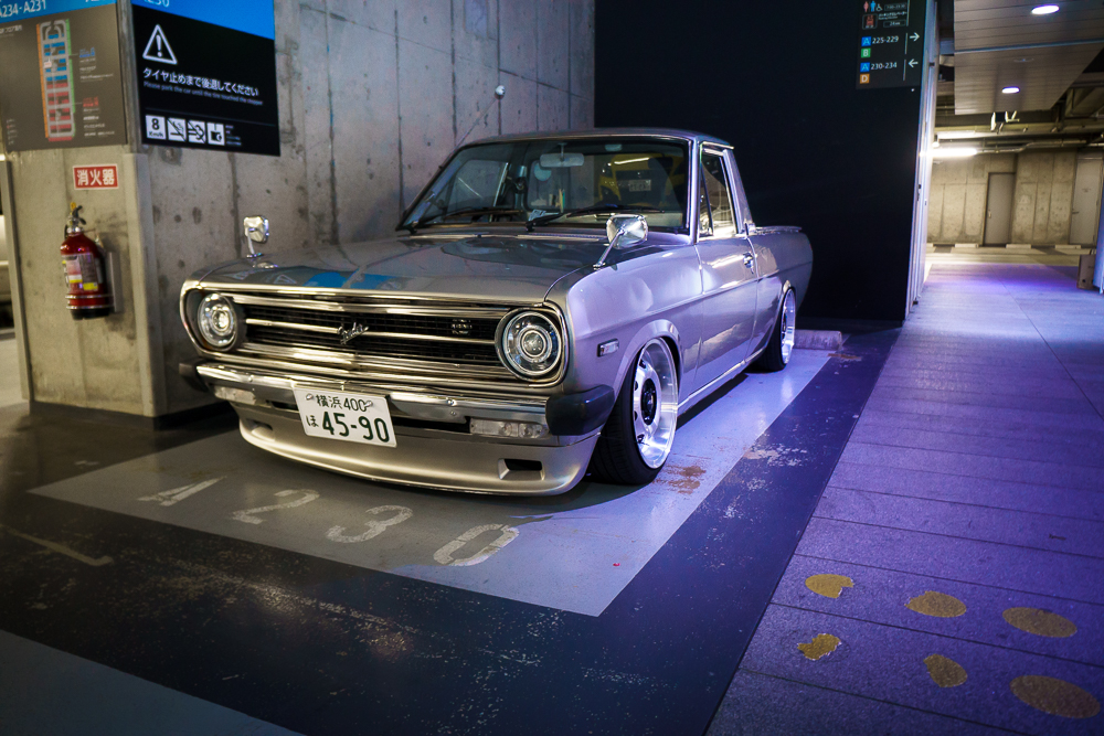 Fender Datsun Pickup Akhibara DX Parking Garage