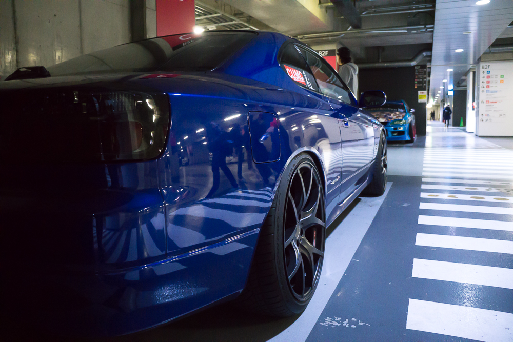 Metallic Paint Akhibara DX Parking Garage