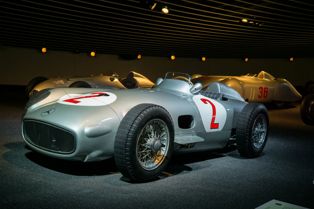 Mercedes Museum Silver Arrow