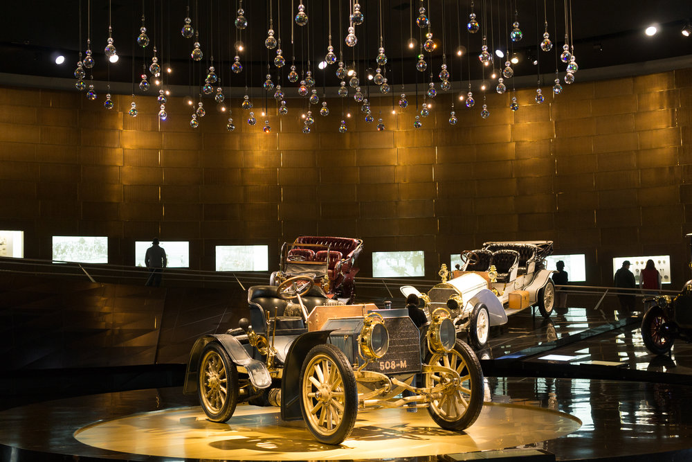 Mercedes Museum Center