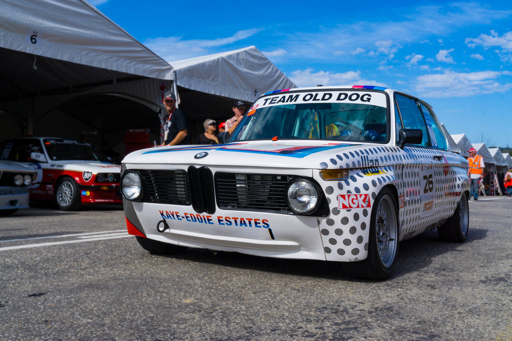 BMW at the Jaguar Simola Hill Climb