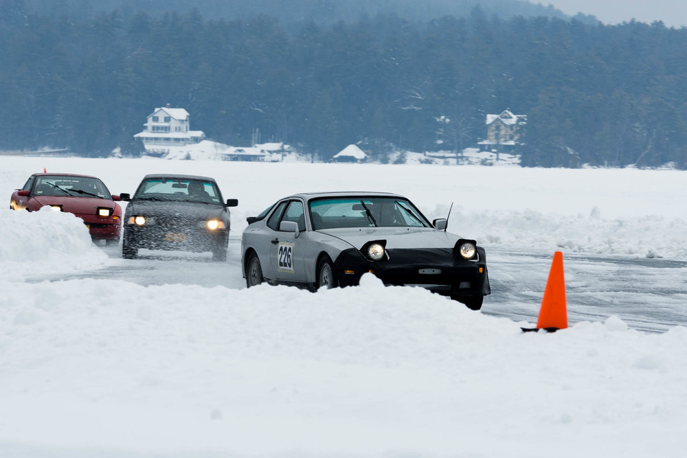Porsche 924 Ice Racing