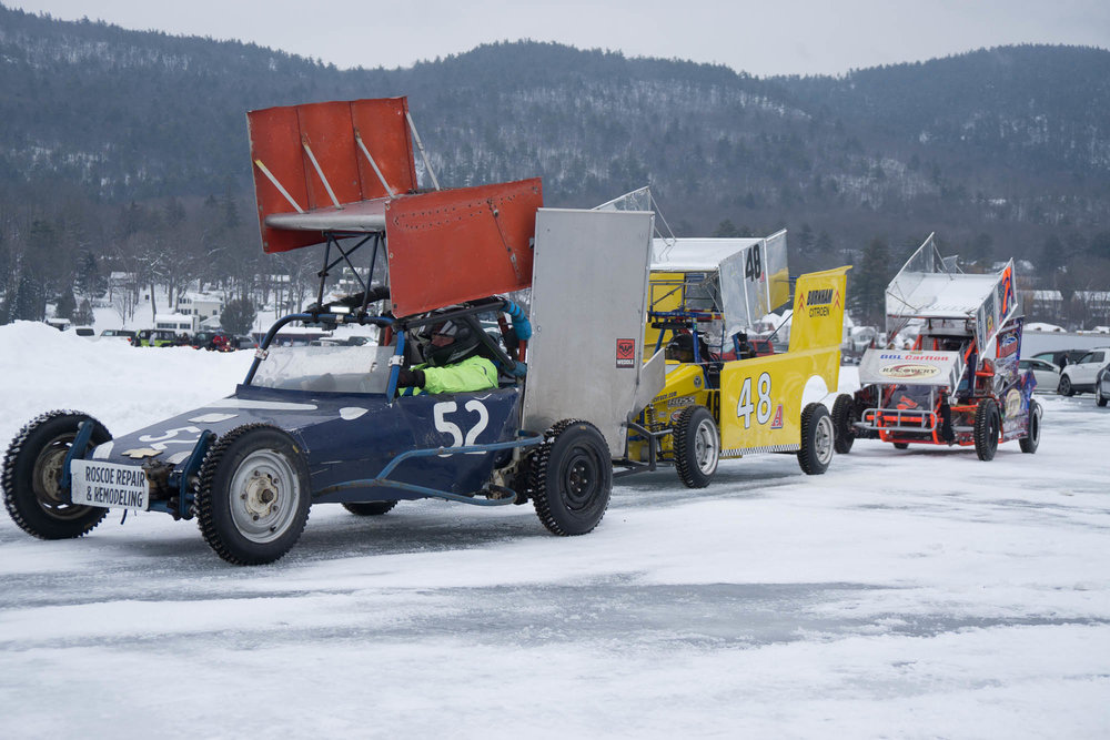 Specialty Ice Racing cars