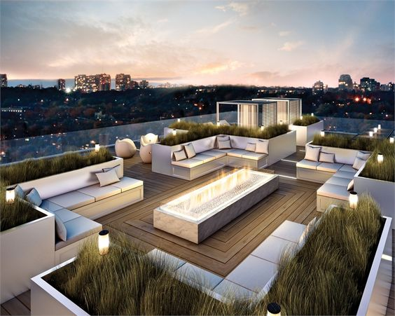 commercial rooftop