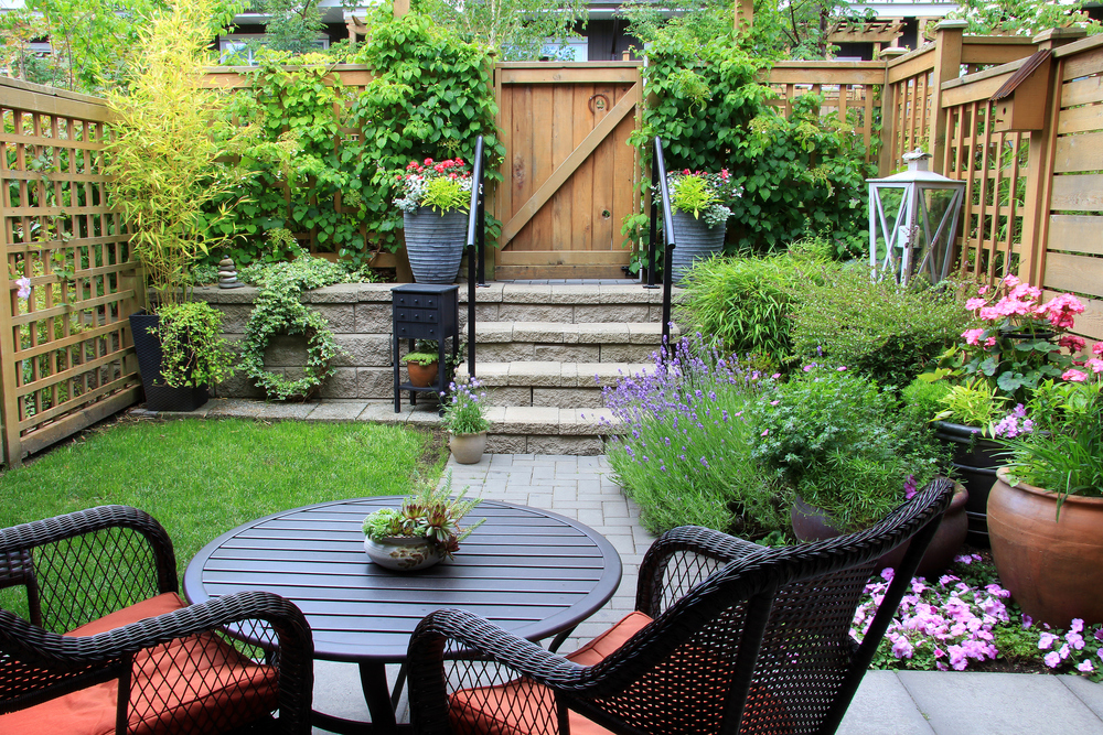 residential small yard