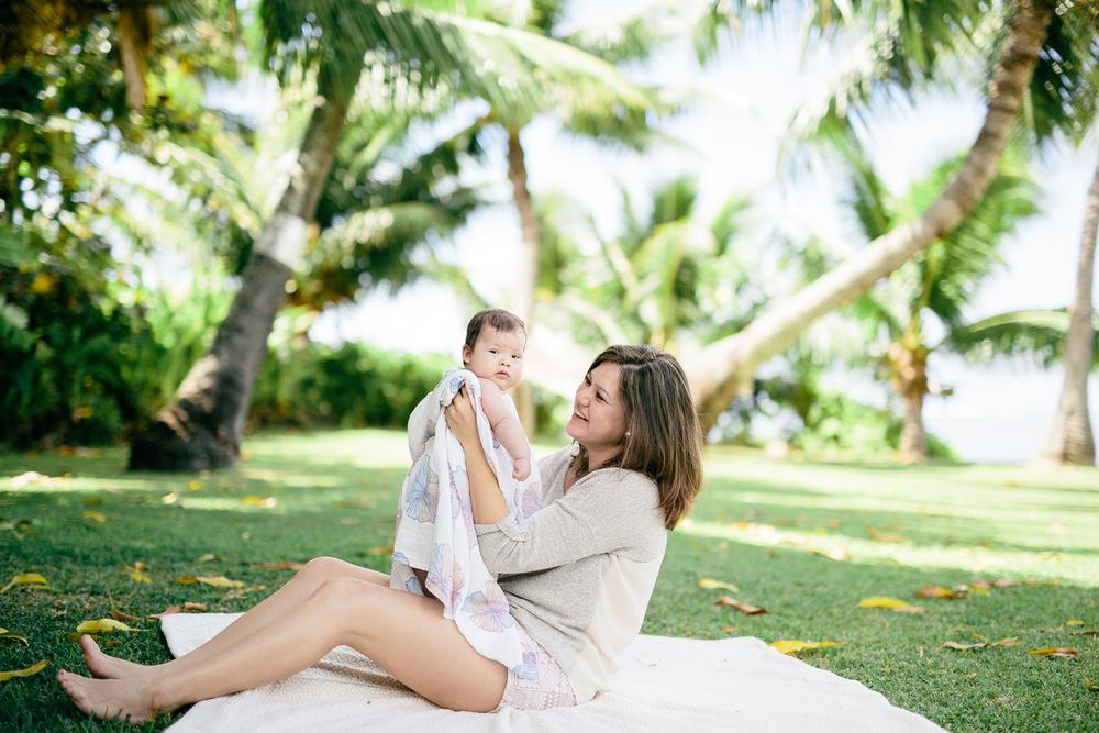 Jana Lam x Coco Moon Hawaii • Swaddling blankets featuring prints by Hawaii-based designer Jana Lam