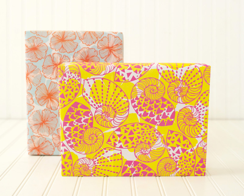 Jana Lam x Wrappily - A collection of eco gift wrap designed by Hawaii-based Designer Jana Lam