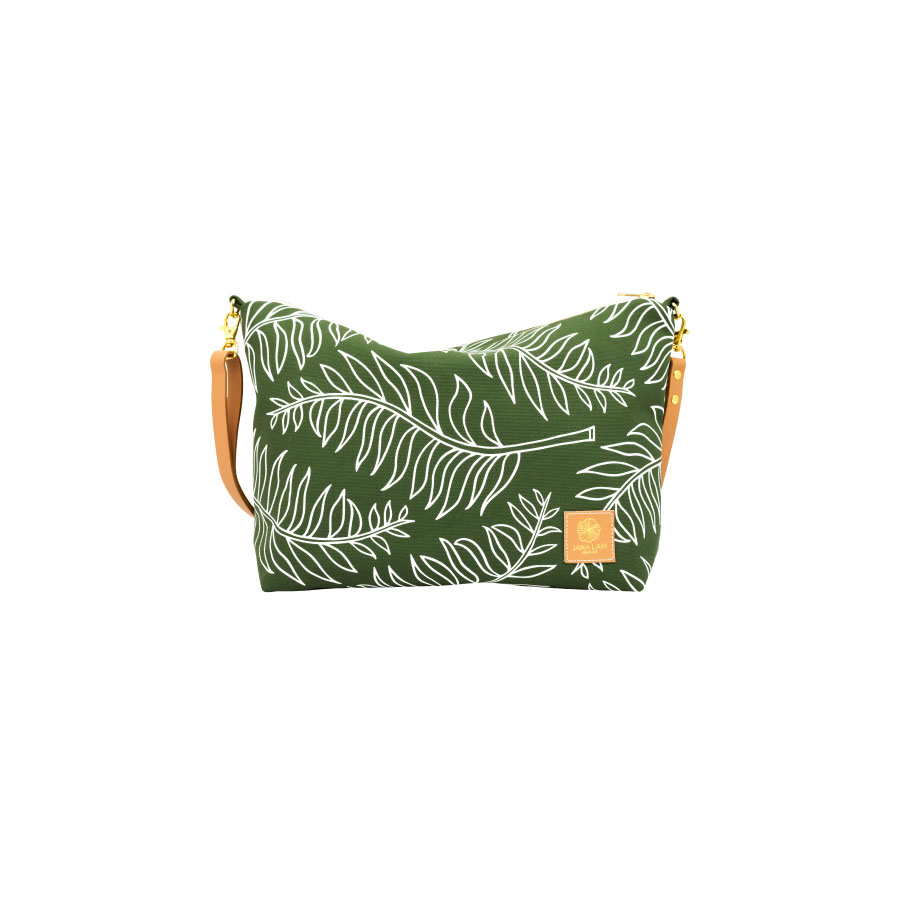 4b14a61873 Slouchy Cross Body • PALM • Hand-printed and made in Hawai i — Jana Lam  Hawaii • accessories for an endless summer
