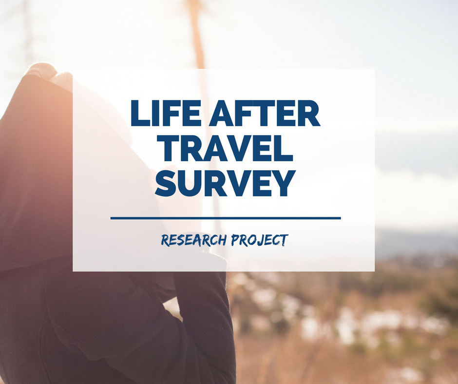 Are you someone who has recently returned from travel, living and working abroad? I'm doing some research into the way people adjust to life back home after travel....more