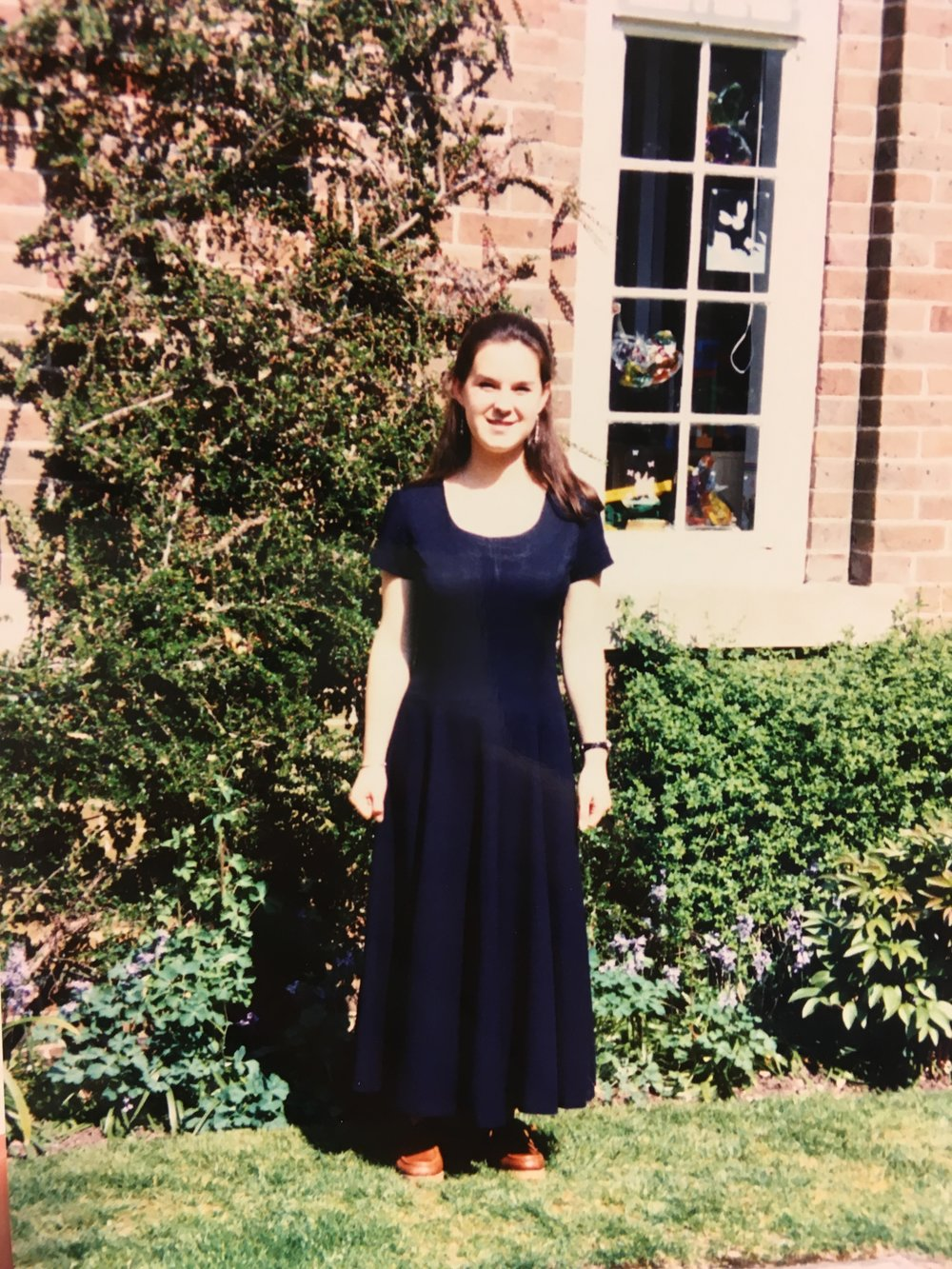 Rowena at work 18 yr old.JPG