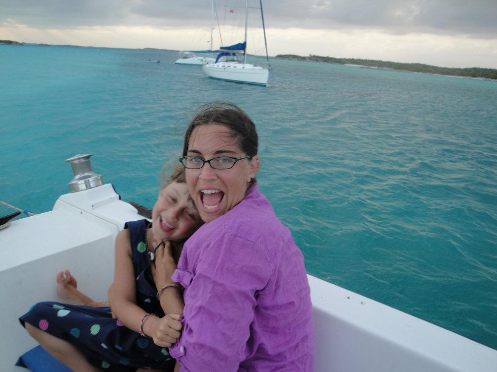 Goofing in the Bahamas.JPG