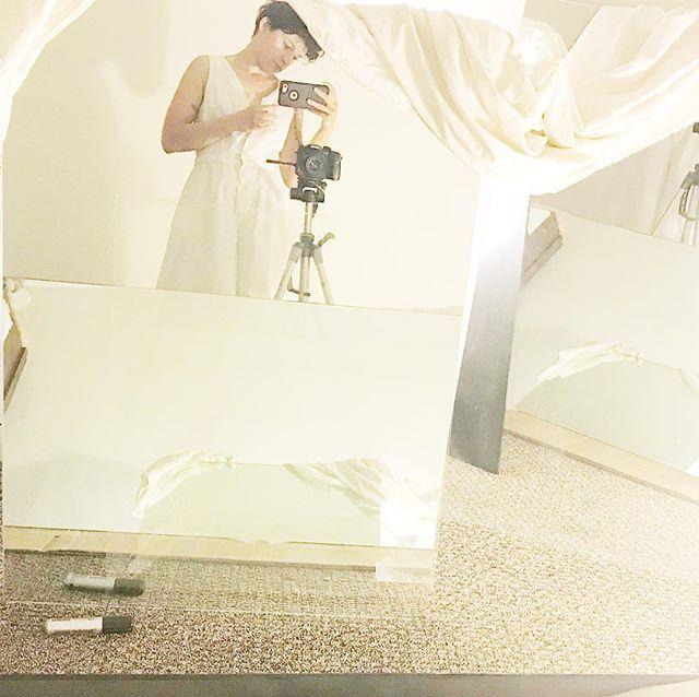 white // mirrors • • • • • #glass #mirrorstudies #white #instaart #colorado #denver #boulder #fortcollins #denvernow #coloradoart #denverart #coloradomade #coloradoartists #selfie #studio #artstudio #scenesfromthestudio
