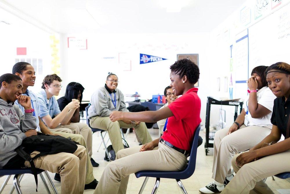 AP Comedy high school workshop