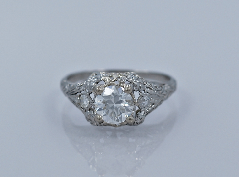 From GesnerEstateJewelry - $6,075 - from the 1930s