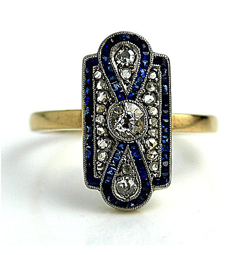 From ArtDecoDiamonds on Etsy - $3,500 - from the 1920s I can't even!