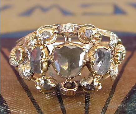 From EngagedWithDiamonds on Etsy - $1,250 - from the 1800s