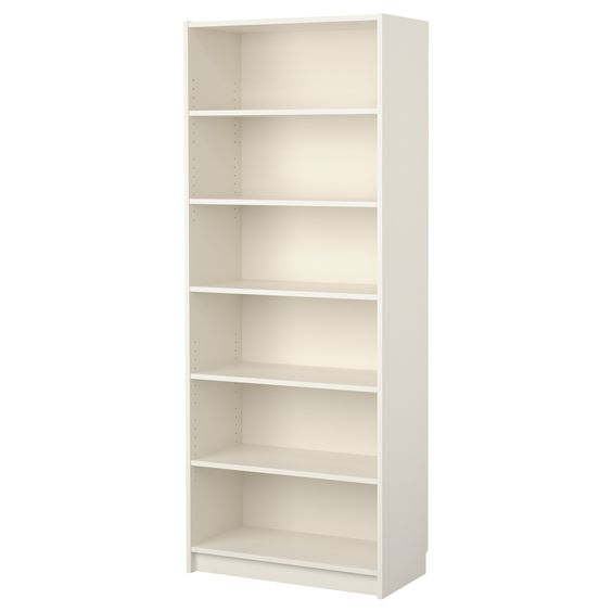 "We got 4 of these to go 2 on each side of the skinny shelves.  These are the very coveted, but unfortunately discontinued (IKEA, what were you thinking?!), 15"" deep shelves.  79.5"" tall, 31.5"" wide."