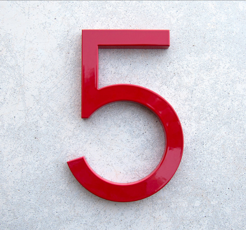 Project Front Porch Makeover Part 2B: How About Them House Numbers?